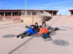 家族4人で年末年始アメリカの旅 3日目 モニュメントバレー~フォーコーナーズ、キャニオン・ディ・シェイ編