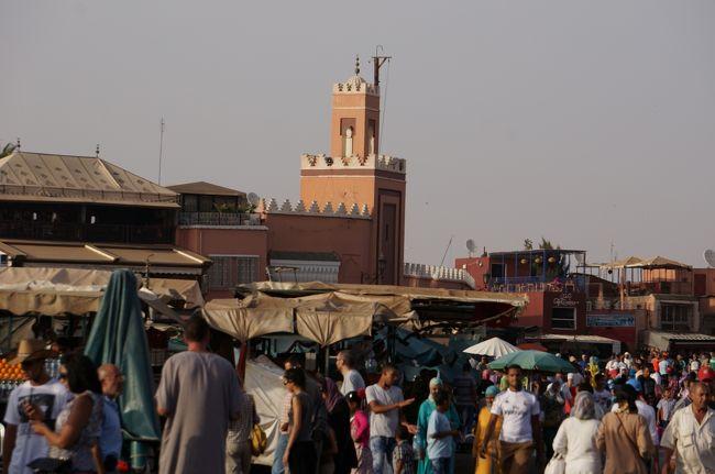 モロッコのマラケシュからカスバ街道、サハラ、ラバト、カサブランカを回って来ました。マラケシュ編です。