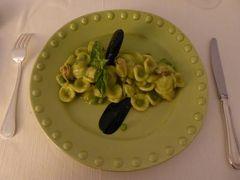真夏の優雅な南イタリア旅行 Napoli×Puglia♪ Vol159(第9日目夜) ☆カロヴィニョ(Carovigno):ミシュラン星「Gia Sotto L'Arco」で優雅なディナー♪