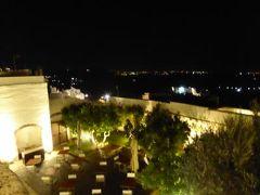 真夏の優雅な南イタリア旅行 Napoli×Puglia♪ Vol160(第9日目夜) ☆オストゥーニ(Ostuni):ホテル「La Sommita Relais」でまったりと夜景を楽しんで♪