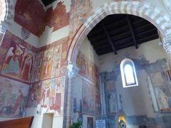 真夏の優雅な南イタリア旅行 Napoli×Puglia♪ Vol163(第10日目午前) ☆ブリンディシ(Brindisi):Santa Maria del Casaleの素晴らしいフレスコ画を鑑賞♪