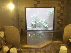 ルートイン古川駅前で天然温泉に浸かり東北縦断の旅の垢を落とす