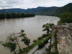 ヴァッハウ渓谷に濁流のドナウを見る・2014中欧旅行記6