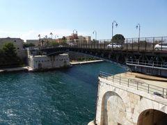 真夏の優雅な南イタリア旅行 Napoli×Puglia♪ Vol180(第10日目午後) ☆ターラント(Taranto):Ponte Girevole 絶景を眺めながら渡る♪