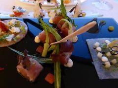 真夏の優雅な南イタリア旅行 Napoli×Puglia♪ Vol193(第10日目夜) ☆オストゥーニ(Ostuni):ホテル「La Sommita Relais」のミシュラン星「Cielo」で2度目のディナー♪