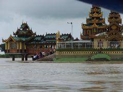 2014年8月7日~21日 ミャンマー・バンコク観光 21 水中寺院編 8月17日 ①
