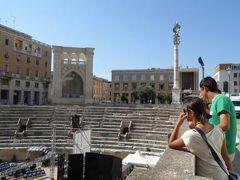 真夏の優雅な南イタリア旅行 Napoli×Puglia♪ Vol206(第11日目午後) ☆レッチェ(Lecce):Anfiteatro RomanoとCastello Carlo Vを見学♪