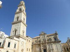 真夏の優雅な南イタリア旅行 Napoli×Puglia♪ Vol209(第11日目午後) ☆レッチェ(Lecce):優雅な広場「Piazza del Duomo」♪