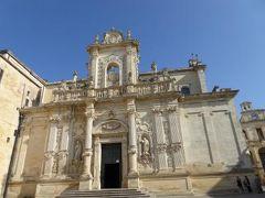 真夏の優雅な南イタリア旅行 Napoli×Puglia♪ Vol210(第11日目午後) ☆レッチェ(Lecce):優雅な教会「Duomo」を鑑賞♪
