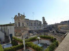 真夏の優雅な南イタリア旅行 Napoli×Puglia♪ Vol212(第11日目夕) ☆レッチェ(Lecce):「Patria Palace Hotel Lecce」のジュニアスイートの眺望は素晴らしい♪