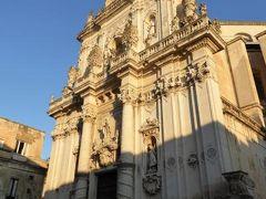 真夏の優雅な南イタリア旅行 Napoli×Puglia♪ Vol215(第11日目夕) ☆レッチェ(Lecce):黄昏の「Piazza del Duomo」とメインストリートを優雅に歩く♪