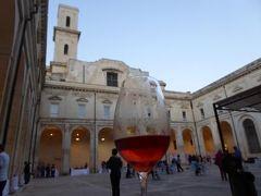 真夏の優雅な南イタリア旅行 Napoli×Puglia♪ Vol216(第11日目夜) ☆レッチェ(Lecce):優雅なロゼワイン祭り「Charme in ROSA」に参加♪