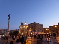 真夏の優雅な南イタリア旅行 Napoli×Puglia♪ Vol217(第11日目夜) ☆レッチェ(Lecce):ロゼワイン祭り「Charme in ROSA」から急いでレストランへ向かう♪