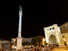真夏の優雅な南イタリア旅行 Napoli×Puglia♪ Vol221(第11日目夜) ☆レッチェ(Lecce):「ロゼワイン祭り」から美しいレッチェの夜景を愛でながらホテルへ帰る♪