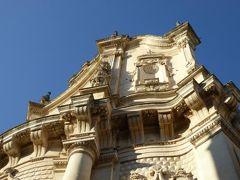 真夏の優雅な南イタリア旅行 Napoli×Puglia♪ Vol229(第12日目夕) ☆レッチェ(Lecce):黄昏のレッチェを歩く♪緩やかなカーブの傑作Chiesa di San Matteo♪