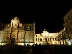 真夏の優雅な南イタリア旅行 Napoli×Puglia♪ Vol233(第12日目夜) ☆レッチェ(Lecce):最後の夜を優雅に散歩♪