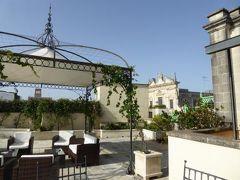 真夏の優雅な南イタリア旅行 Napoli×Puglia♪ Vol234(第13日目朝) ☆レッチェ(Lecce):「Patria Palace Hotel Lecce」の屋上から朝のレッチェを眺めて♪