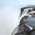 ビクトリアの滝周辺