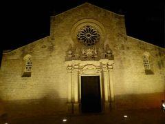 真夏の優雅な南イタリア旅行 Napoli×Puglia♪ Vol258(第13日目夜) ☆オートラント(Otranto):夜景の美しい旧市街を歩く♪