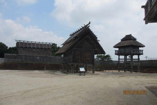 吉野ヶ里遺跡は、紀元前5世紀から700年続いた弥生時代の遺跡です。<br />いつも博多祇園山笠おなじみの櫛田神社。今回は熊本阿蘇、大分湯布院、佐賀吉野ヶ里、福岡博多とめぐりました。