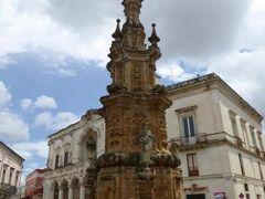 真夏の優雅な南イタリア旅行 Napoli×Puglia♪ Vol284(第15日目午後) ☆ナルド(Nardo):サレント半島で最も美しい広場と称される「Piazza Salandra」♪