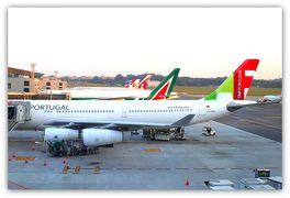 再び、グゥアールリョス・サンパウロ空港第三ターミナル・AAのビジネスラウンジ(ブラジル)