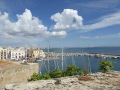 真夏の優雅な南イタリア旅行 Napoli×Puglia♪ Vol293(第15日目午後) ☆ガリポリ(Gallipoli):ガリポリ城(Castello Angioino)から周囲の風景を眺めて♪