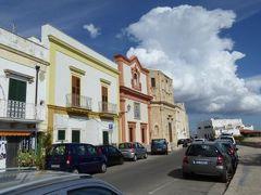 真夏の優雅な南イタリア旅行 Napoli×Puglia♪ Vol296(第15日目午後) ☆ガリポリ(Gallipoli):美しい旧市街を優雅に散策♪城壁から海を眺めて♪