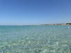 真夏の優雅な南イタリア旅行 Napoli×Puglia♪ Vol308(第16日目午前) ☆ガリポリ(Gallipoli):ガリポリの美しい「SAMSARA」ビーチで優雅な南イタリアの休日♪