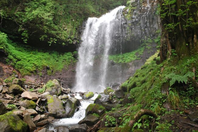 観光地化されていない秘境の滝が見たくて日光隠れ三滝に。<br />ついでに百選の霧降の滝も寄ってきました。