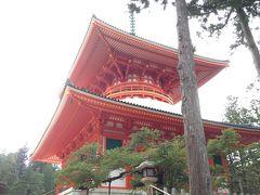 行き当たりばったり、高野山日帰りの旅 2014年 8月