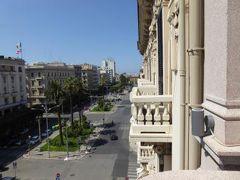 真夏の優雅な南イタリア旅行 Napoli×Puglia♪ Vol319(第17日目午後) ☆バーリ(Bari):高級ホテル「Oriente」のジュニアスイートルーム♪