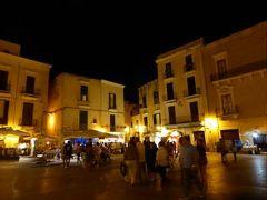 真夏の優雅な南イタリア旅行 Napoli×Puglia♪ Vol331(第17日目夜) ☆バーリ(Bari):旧市街の美しい夜景を楽しむ♪
