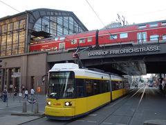 ベルリン市内の鉄道俯瞰