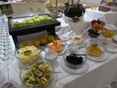 真夏の優雅な南イタリア旅行 Napoli×Puglia♪ Vol333(第18日目朝) ☆バーリ(Bari):高級ホテル「Oriente」の朝食♪
