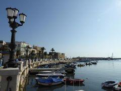 真夏の優雅な南イタリア旅行 Napoli×Puglia♪ Vol334(第18日目朝) ☆バーリ(Bari):朝の旧港を眺めて散歩♪