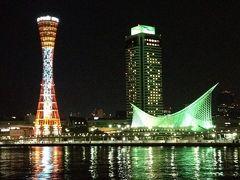 神戸出張のついでに夜景を見に行ってまいりました