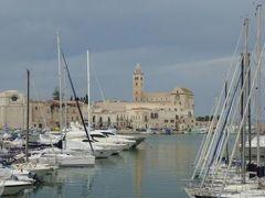 真夏の優雅な南イタリア旅行 Napoli×Puglia♪ Vol344(第18日目午後) ☆トラーニ(Trani):美しい漁港と周囲の風景を眺めて♪