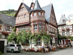 2014年晩夏のドイツ旅行5:シュタールエック城の麓、ワインの町バッハラッハ。