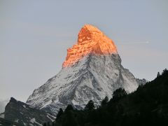 スイス旅行10日間-8素晴らしきモルゲンロート