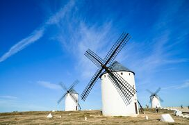 スペイン・ローマ遺跡巡りの旅【8】ラ・マンチャの風車は期待以上 (2013/11/2)