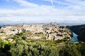 スペイン・ローマ遺跡巡りの旅【9】トレドの街を臨むパラドール (2013/11/3)