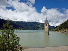 2014年レンタカーと列車で巡るスイスの旅⑩ オーストリアを通ってイタリアの湖へ