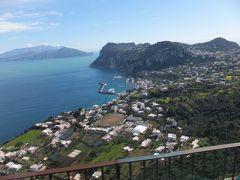 ゆったりめぐるイタリア 7日目 青色いっぱいのカプリ島。