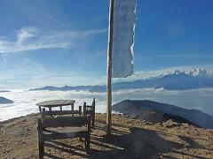 近くて遠いランタン谷トレッキング⑤ 雲海カフェへようこそ (ラウルビナヤク、シンゴンパ、女子会)