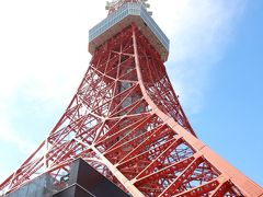 やっとのぼれた!東京タワー!