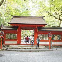貴船神社奧宮参拝と川床料理