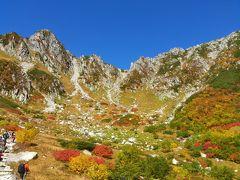 紅葉の木曽駒ヶ岳登山