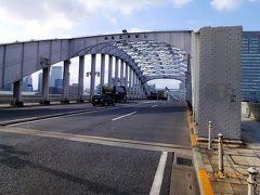 【東京散策9】 1970年までは可動橋だった勝鬨橋と勝どき散策