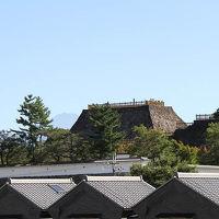【 石垣の迫力・ 『 甲 府 城 』 】 「日本100名城」 晴天に恵まれ 天守台からの 眺め 「富士山」も  甲府市 山梨県
